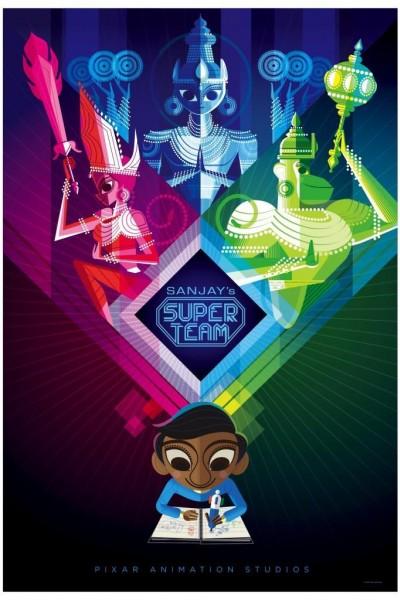 Caratula, cartel, poster o portada de Sanjay\'s Super Team