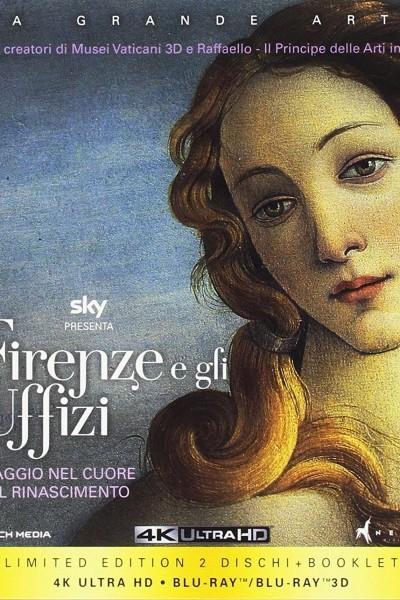 Caratula, cartel, poster o portada de Florencia y la galería de los Uffizi