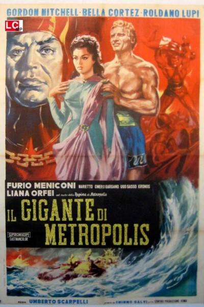 Caratula, cartel, poster o portada de El gigante de Metrópolis