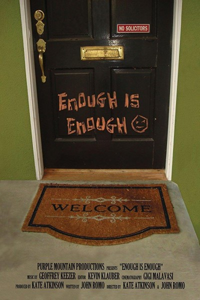 Caratula, cartel, poster o portada de Enough Is Enough