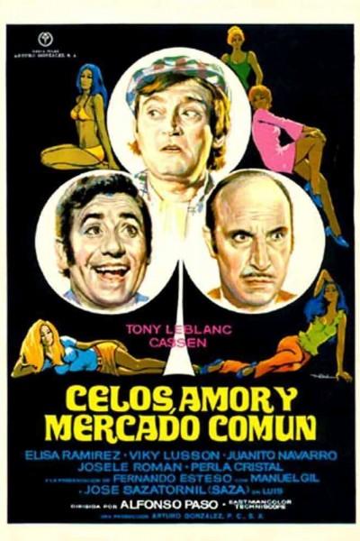 Caratula, cartel, poster o portada de Celos, amor y Mercado Común