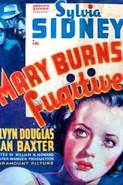 Caratula, cartel, poster o portada de Mary Burns, fugitiva