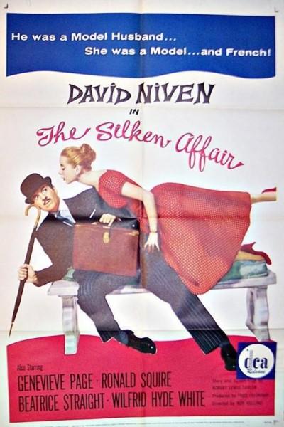 Caratula, cartel, poster o portada de The Silken Affair