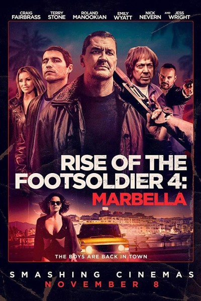 Caratula, cartel, poster o portada de Rise of the Footsoldier: Marbella
