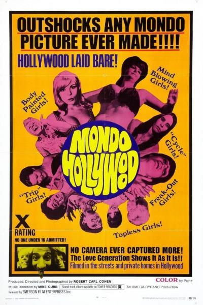Caratula, cartel, poster o portada de Mondo Hollywood