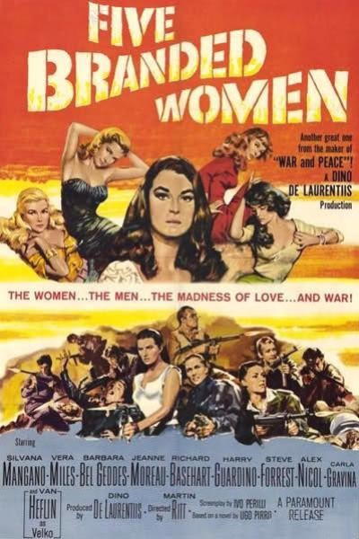 Caratula, cartel, poster o portada de Cinco mujeres marcadas