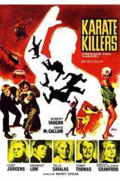 Caratula, cartel, poster o portada de Asesinos por karate