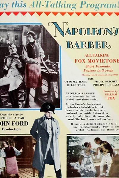 Caratula, cartel, poster o portada de El barbero de Napoleón