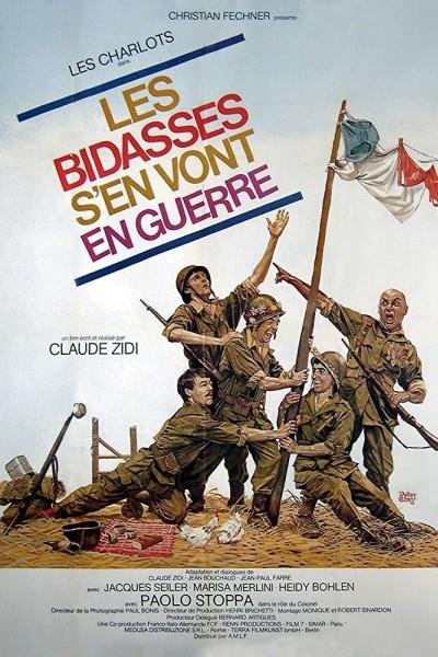 Caratula, cartel, poster o portada de Les bidasses s\'en vont en guerre