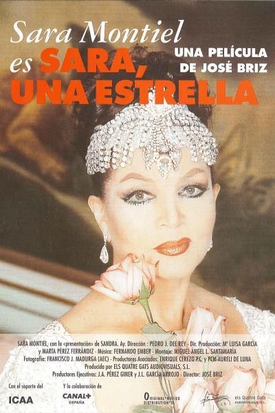 Caratula, cartel, poster o portada de Sara, una estrella