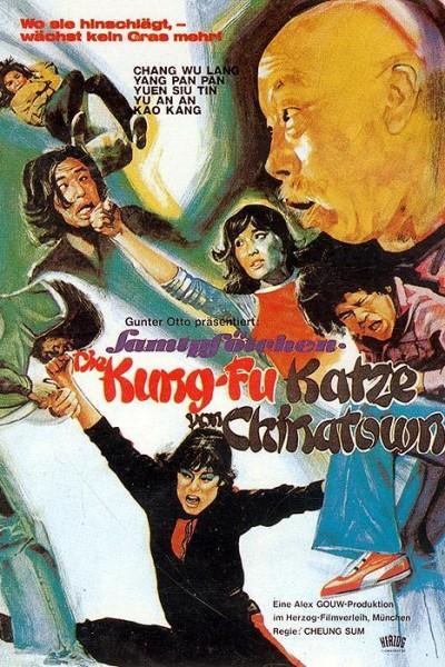Caratula, cartel, poster o portada de El gato borracho maestro de kung fu