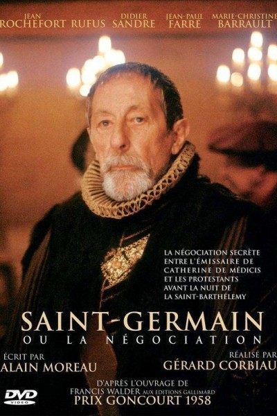 Caratula, cartel, poster o portada de Saint-Germain ou La négociation