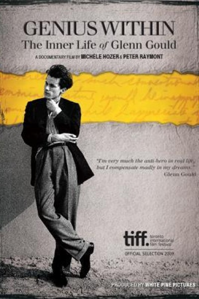 Caratula, cartel, poster o portada de Genius Within: The Inner Life Of Glenn Gould