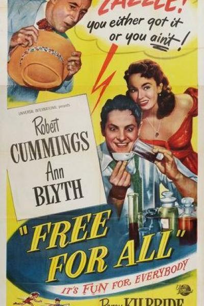 Caratula, cartel, poster o portada de Free for All