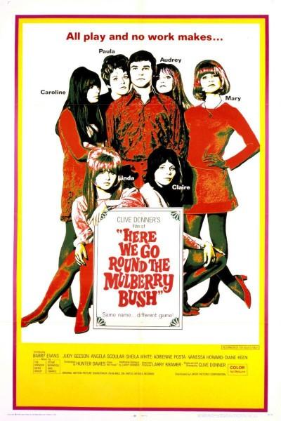 Caratula, cartel, poster o portada de Here We Go Round the Mulberry Bush
