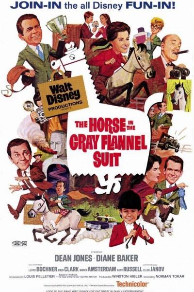 Caratula, cartel, poster o portada de El caballo del traje gris