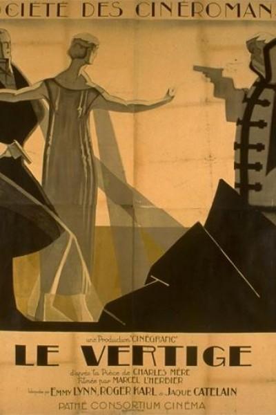 Caratula, cartel, poster o portada de El vértigo