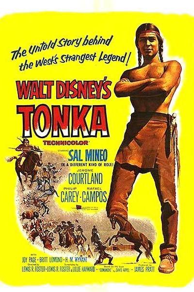 Caratula, cartel, poster o portada de Tonka en La última batalla del general Custer