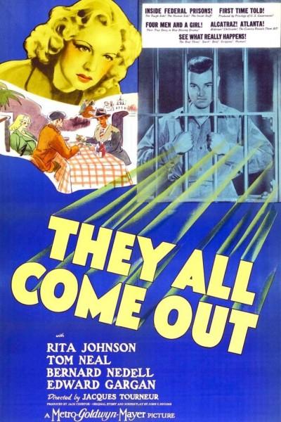 Caratula, cartel, poster o portada de They All Come Out