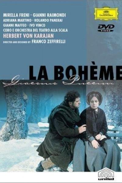 Caratula, cartel, poster o portada de La Bohème