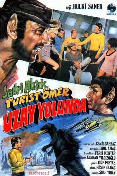 Caratula, cartel, poster o portada de Turist Ömer Uzay Yolunda (Turkish Star Trek)