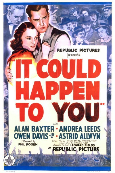 Caratula, cartel, poster o portada de It Could Happen to You