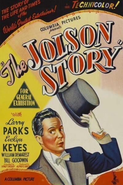 Caratula, cartel, poster o portada de The Jolson Story