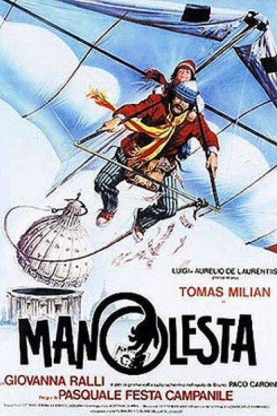 Caratula, cartel, poster o portada de Manolesta