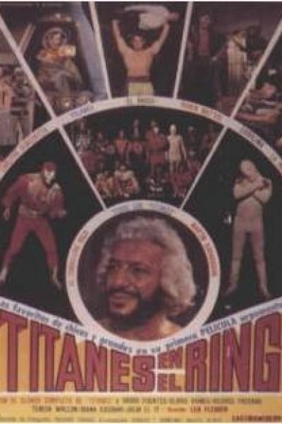 Caratula, cartel, poster o portada de Titanes en el ring