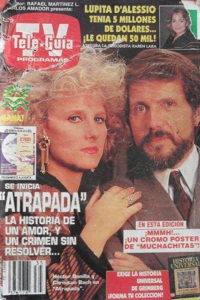 Caratula, cartel, poster o portada de Atrapada