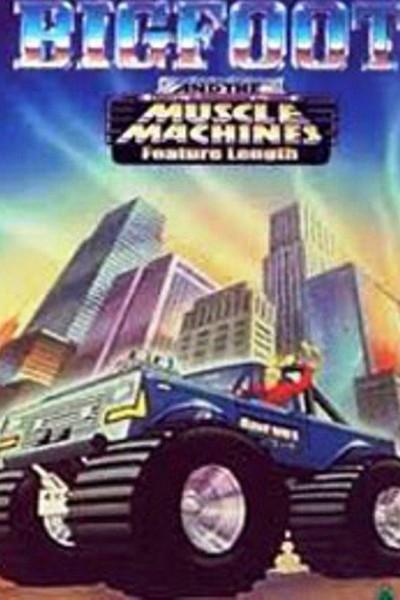 Caratula, cartel, poster o portada de Bigfoot and the Muscle Machines