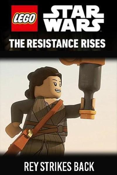 Caratula, cartel, poster o portada de LEGO Star Wars: The Resistance Rises - Rey Strikes Back