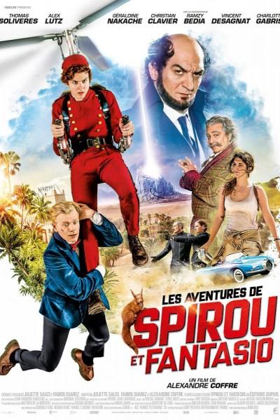 Caratula, cartel, poster o portada de Les aventures de Spirou et Fantasio