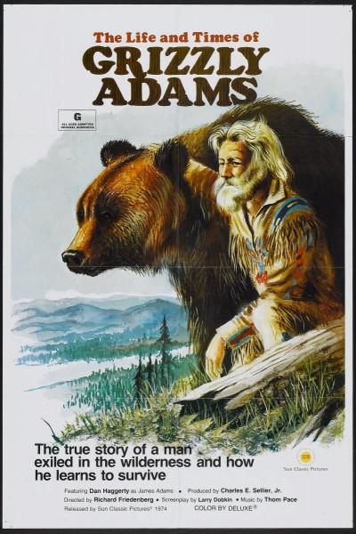 Caratula, cartel, poster o portada de The Life and Times of Grizzly Adams