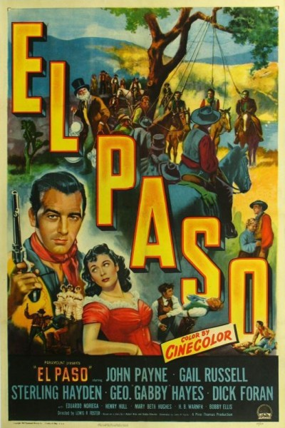 Caratula, cartel, poster o portada de El Paso