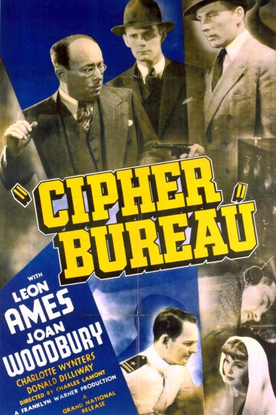 Caratula, cartel, poster o portada de Cipher Bureau