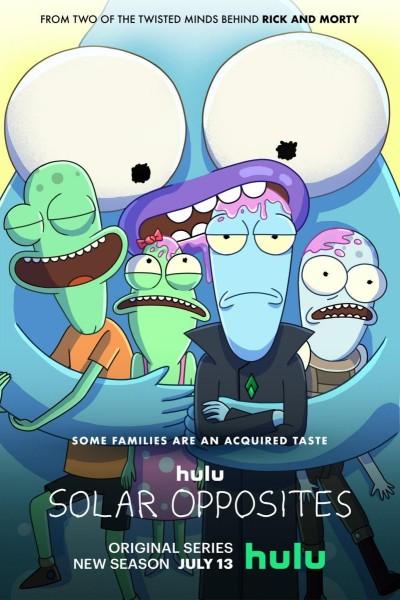 Caratula, cartel, poster o portada de Solar Opposites