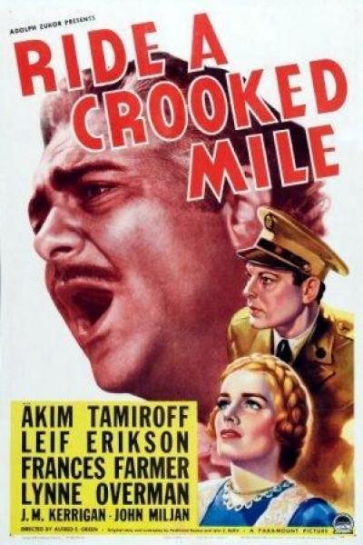 Caratula, cartel, poster o portada de Ride a Crooked Mile