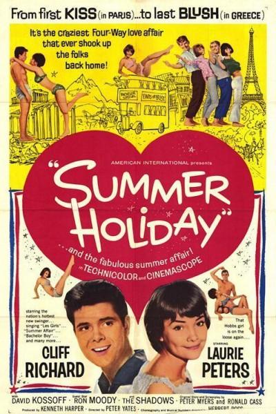 Caratula, cartel, poster o portada de Vacaciones de verano