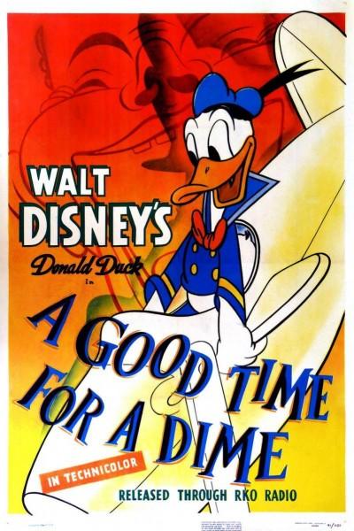 Caratula, cartel, poster o portada de Pato Donald: Disfrutar por una moneda