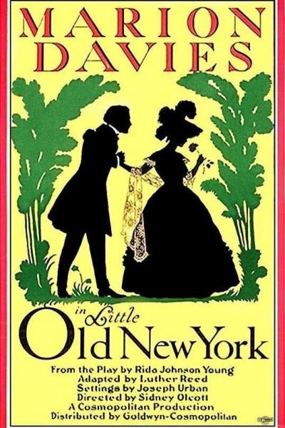 Caratula, cartel, poster o portada de El Nueva York de antaño
