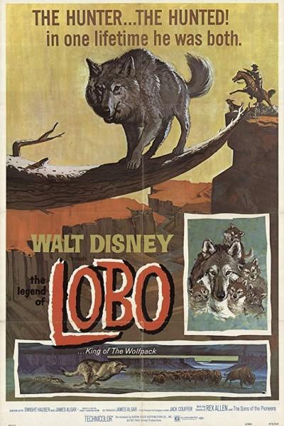 Caratula, cartel, poster o portada de La leyenda del lobo