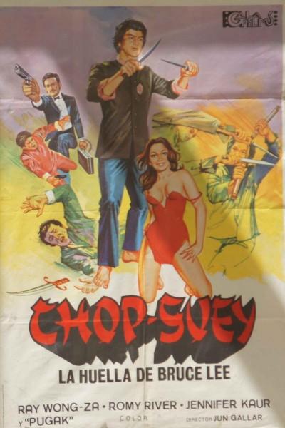 Caratula, cartel, poster o portada de Chop-suey (La huella de Bruce Lee)