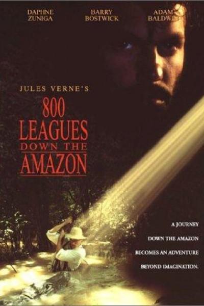 Caratula, cartel, poster o portada de 800 Leagues Down the Amazon