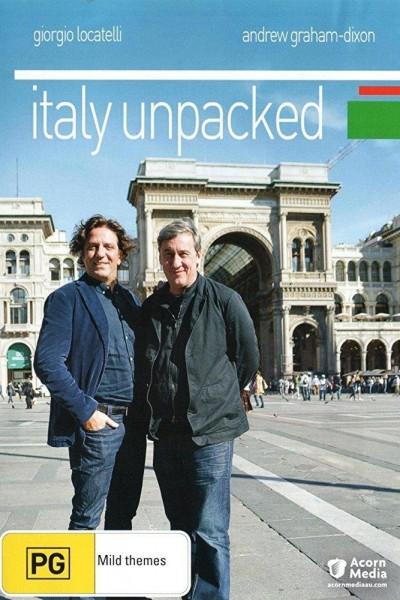 Caratula, cartel, poster o portada de Italia al descubierto