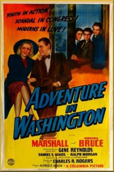 Caratula, cartel, poster o portada de Adventure in Washington