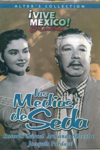 Caratula, cartel, poster o portada de Las medias de seda