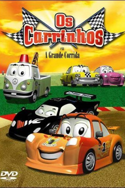 Caratula, cartel, poster o portada de The Little Cars: La gran carrera