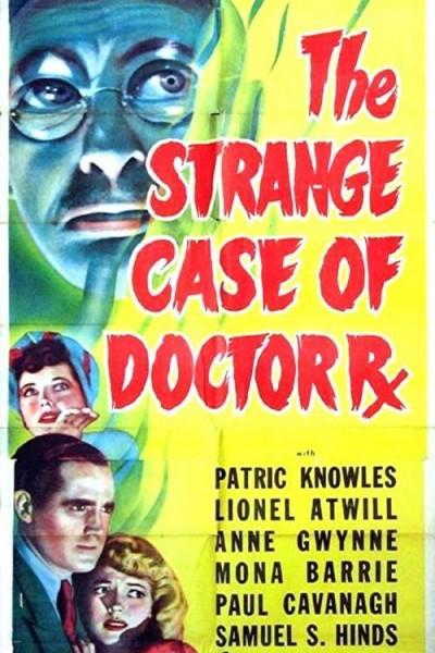 Caratula, cartel, poster o portada de El extraño Doctor RX