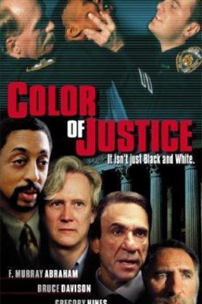 Caratula, cartel, poster o portada de El color de la justicia